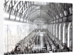 Banquet of Charles II in St. George's Hall, Windsor Castle by English School