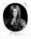 John Dryden engraved by William Faithorne by Johann Closterman