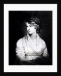 Portrait of Mary Wollstonecraft Godwin Author of a Vindication of the Rights of Woman by John Opie