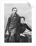 John Addington Symonds and His Daughter by English Photographer