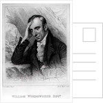 Portrait of William Wordsworth engraved by Henry Meyer by Richard Carruthers