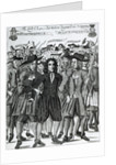 The Arrest of Judge Jeffreys by English School