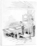 Press-printing by English School