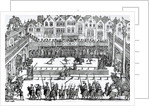 A Jousting Scene by English School