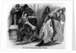 The Empress Matilda and the Queen of Stephen by English School