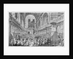 Thanksgiving at St. Paul's for George III's Recovery from Illness by Edward Dayes