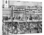 Part of the Coronation Procession of Edward VI by English School
