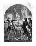 Kelly the Non Jurine Clergyman Destroying Treasonable Papers by Thomas Henry Nicholson