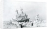 HMS Terror held on ice by English School