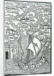 Map describing the islands of Salvador, Espanola, Fernanda, Isabella and Conception by Christopher Columbus