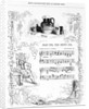 Dear Tom, This Brown Jug that now foams with mild ale..., song sheet from How's illustrated Book of British song by English School