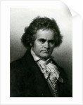 Portrait of Beethoven by Carl Jager