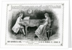 Advertisement, John Brinsmead and Sons Pianos by English School