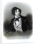 Portrait of Benjamin Disraeli Esquire M.P. by Alfred-Edward Chalon