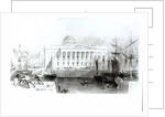 The New Custom House, Liverpool by English School