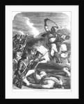 Death of the Rohilla Chief in 1781 by English School