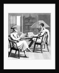 An European Gentleman with his Moonshee, or Native Professor of Languages by Charles D'Oyly