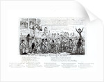 The Spa Fields Orator Hunt-ing for Popularity to Do-Good!! by George Cruikshank