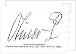 Signature of Oliver Cromwell Lord Protector by English School