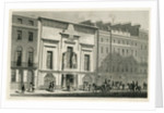 The Egyptian Hall, Piccadilly by English School