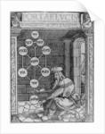 Jewish Cabbalist Holding a Sephirot by German School