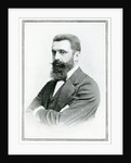 Theodor Herzl by English School