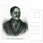 William Kama, The First Christian Chief by English School