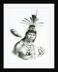 Chief Camacan Mongoyo by Charles Etienne Pierre Motte