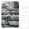 General View of John Brimsmead & Sons Pianoforte works, Grafton Road, Kentish Town, London by English School