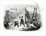 The Wheel Wright by engraved by J. Miller