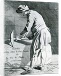 Stone mason by French School