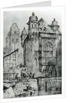 Coblence from Sketches in Flanders and Germany by Samuel Prout