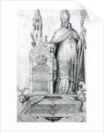 Saint Wolfgang of Regensburg by Italian School
