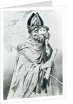 Caricature of Pope Pius IX by Dutch School