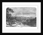View of Manchester by English School