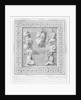 Plate illustrating seven Greek philosophers by English School