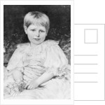 Radclyffe Hall aged 5 by English School