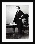 Lewis Carroll aged 29 by English Photographer