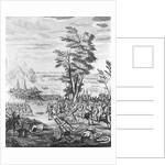 Battle of Malplaquet by English School