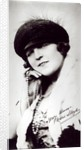 Signed photograph of Marie Lloyd by English Photographer