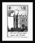 Mortar Pieces Put on the Tower of London by English School