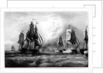 John Paul Jones's 'Ranger' Ship by English School