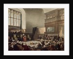 Court of Exchequer, Westminster Hall by T. & Pugin