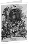 Portrait of Frederick II by Antoine Pesne