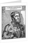 Portrait of Charles V, Holy Roman Emperor by English School