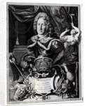 Portrait of Frederick William I, King of Prussia by Friedrich Wilhelm Weidemann