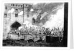 Sir Thomas Wyatt Attacking the Byward Tower by George Cruikshank