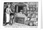 Advertisement for Lomas and Co., suppliers of kitchen equipment by English School