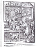 The Apothecary, published by Hartman Schopper by German School
