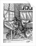 The Engraver by German School